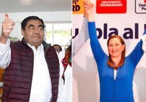 PAN y Morena en guerra por gubernatura de Puebla