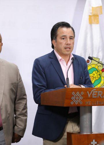 Cuitlahuac García acusa a Miguel Ángel Yunes por liberaciones de ex funcionarios duartistas