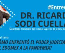 ¿Cómo enfrentó el Poder Judicial del EDOMEX a la Pandemia?