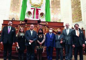 Rinde protesta el Consejo Ciudadano de la FGJCDMX