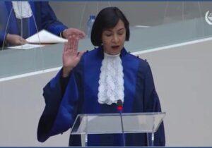 Toma protesta Socorro Flores, la primera jueza mexicana en la CPI