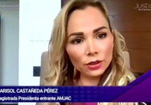 Construir una sociedad paritaria es tarea de todas y todos: magistrada Marisol Castañeda