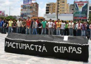 ONU-DH pide garantizar el debido proceso de los normalistas de Mactumactzá