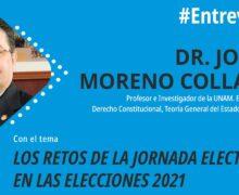 Los retos de la jornada electoral en las elecciones 2021