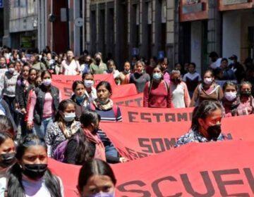 CNDH  se pronunció por los hechos ocurridos en la Normal de Teteles, Puebla